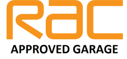 rac approved garage logo
