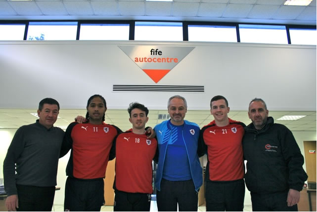 Brian, Harry and Eric with Players