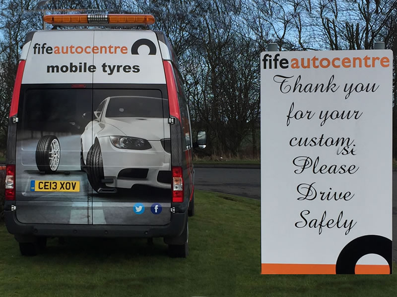 Mobile Tyre Fitting | Fife Autocentre