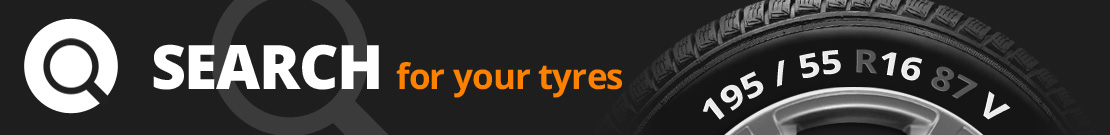 Search for your tyres